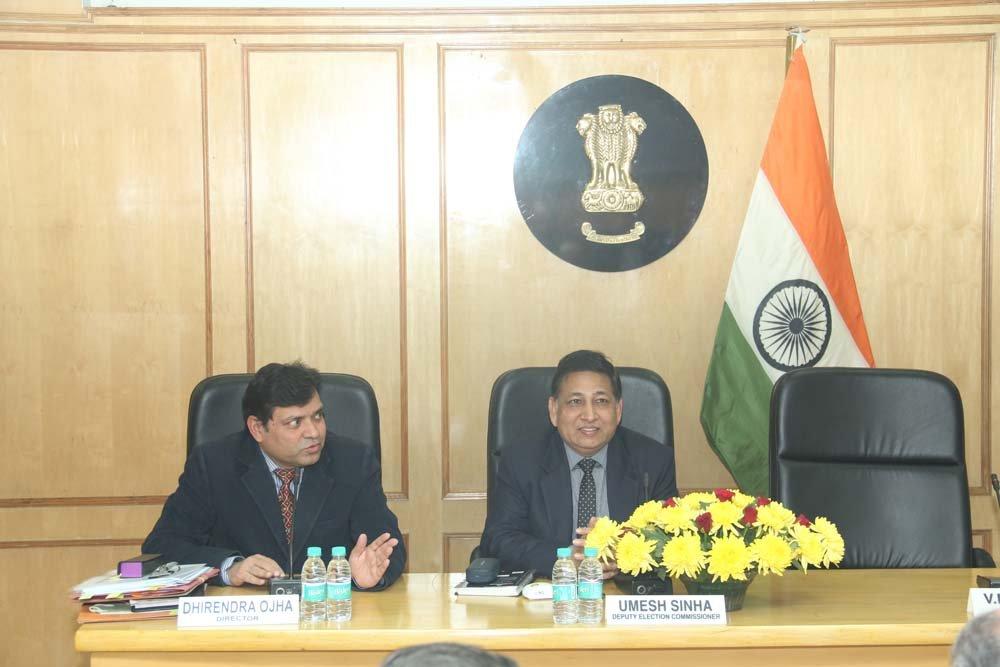 Afghanistan Delegation visited Election Commission of India on 8th December, 2016