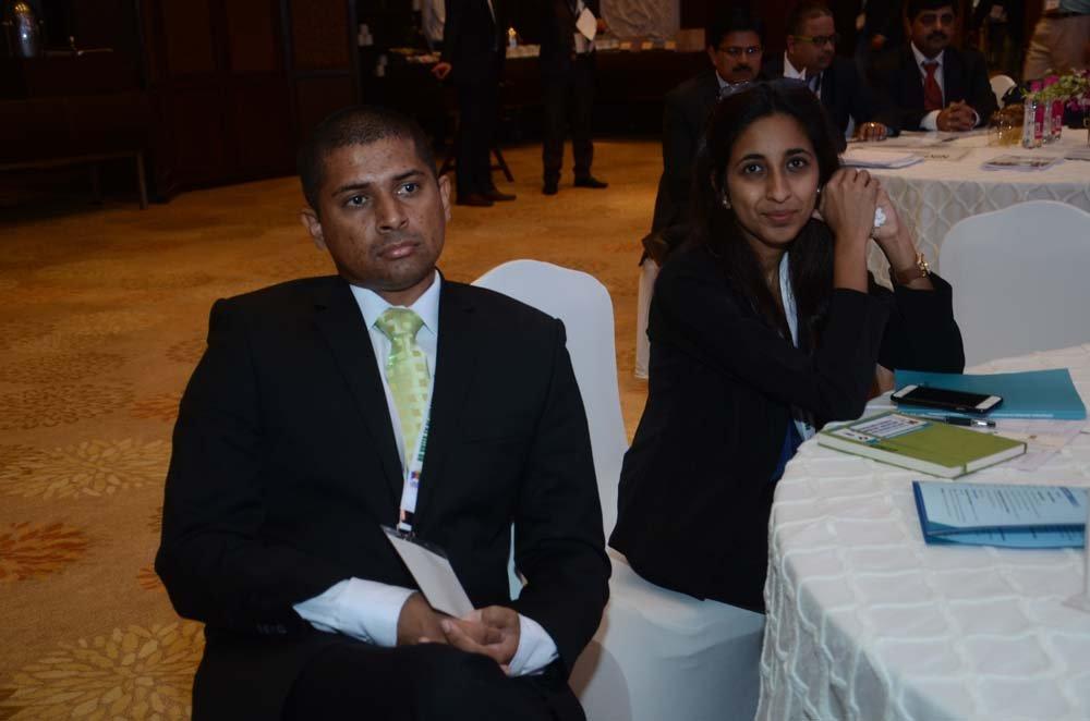 Mr. Mohammed Saneem (Supervisor of Elections, Fijian Elections Office) and Ms. Zubnah Raeleen Khan (Stakeholder Awareness Coordinator, Fijian Elections Office)