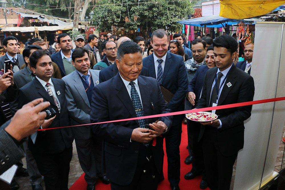 Inauguration of Matdata mahotsav by Hon'ble former CEC Shri H.S.Brahma