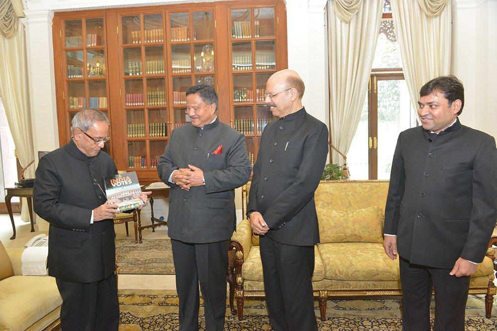 Launch of India Votes Book