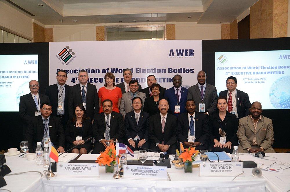 4th A-WEB Executive Board Meeting