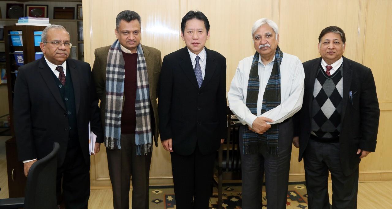 Mr.Chogyal Dago Rigdzin, Chief Election Commissioner of Bhutan met Sh. Sunil Arora, Chief Election Commissioner of India on 31st December 2019 in New Delhi.